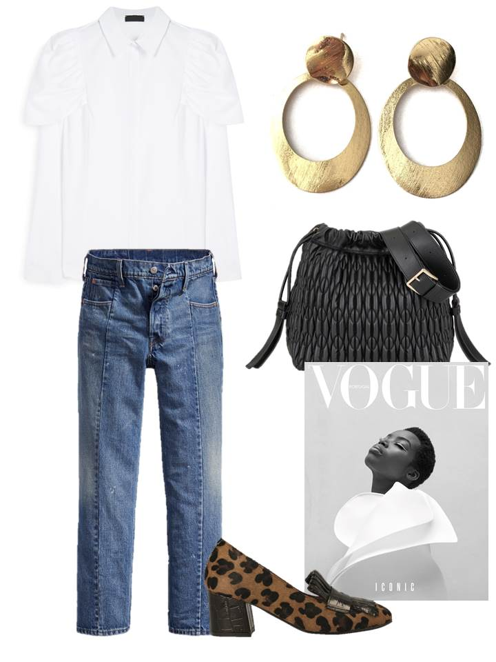Shopping; OOTD; outfit ideas; outfit; primark; janna conner, levi's, gioseppo, vogue