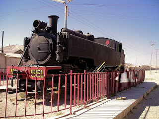 The Stranded Locomotive, Uyuni, Bolivia