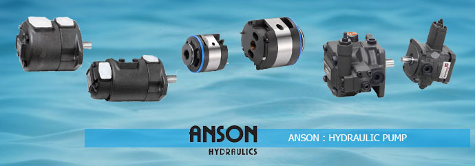 Anson Hydraulic Variable Displacement Vane Pumps - Anson Hydraulic Pumps