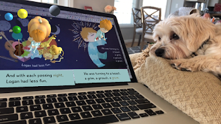 Goodnight Lad is an animated board book that is great for the beginning reader! Scan each page for an augmented reality experience and to have the words read aloud.