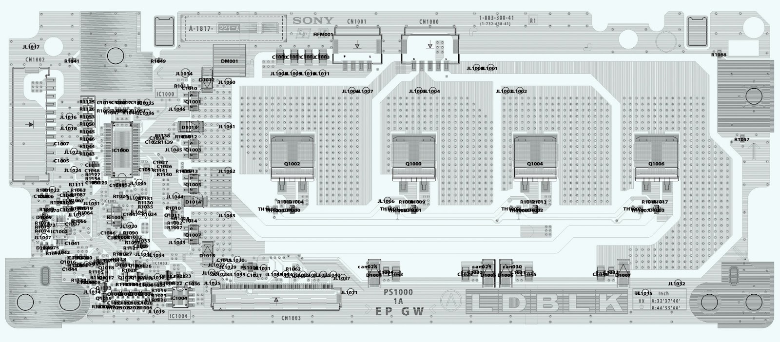 Kdl60ex725 Led Driver Motion Sensor Circuit Diagram Schematic