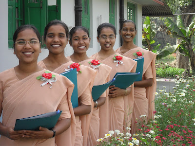 Five Sisters Make First Vows, Four Women Enter the Novitiate