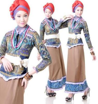 model terbaru baju muslim untuk kondangan