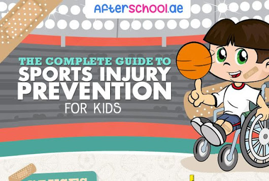 The Complete Guide to Sports Injury Prevention for Kids #infographic ~ Visualistan