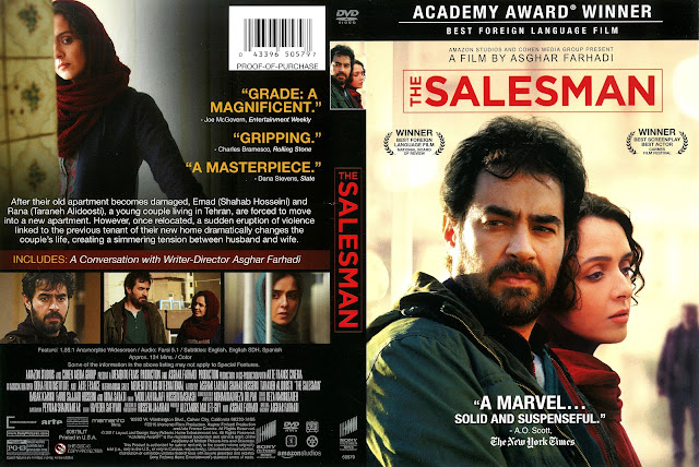 The Salesman DVD Cover