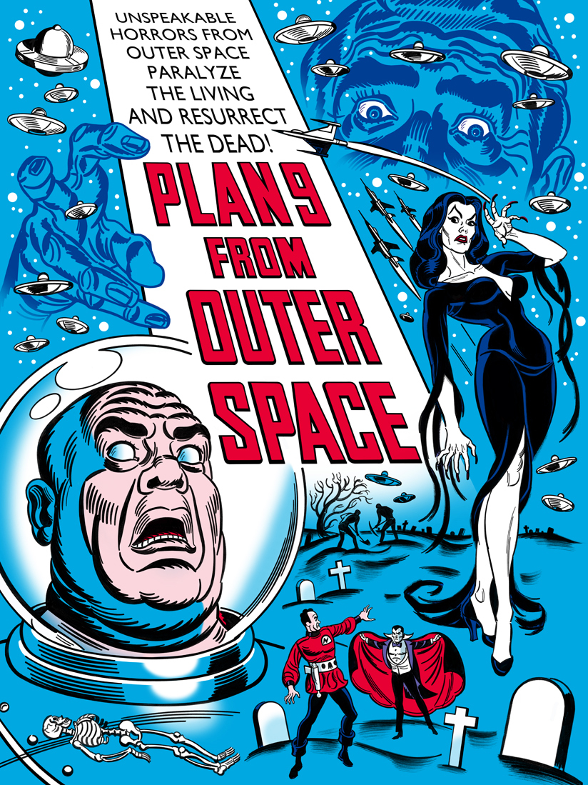 Mitch o 39 connell the new 39 plan 9 from outer space for Outer space planning and design group