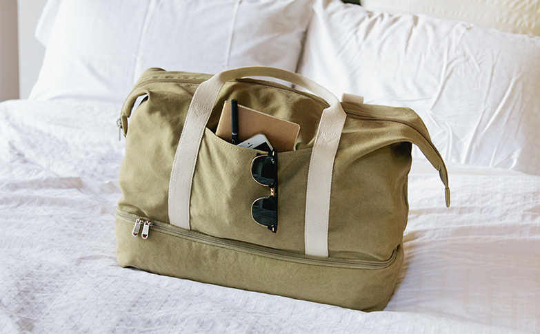 05ff0dadfca7 Capital A  Canvas Weekender from Lo and Sons