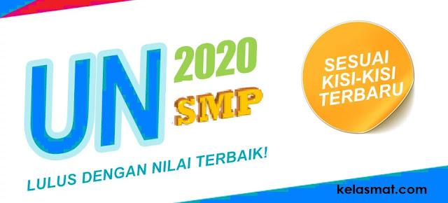 Simulasi UNBK 2020 Bahasa Inggris SMP Materi Notice