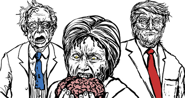 Zombie Politicians: tavola