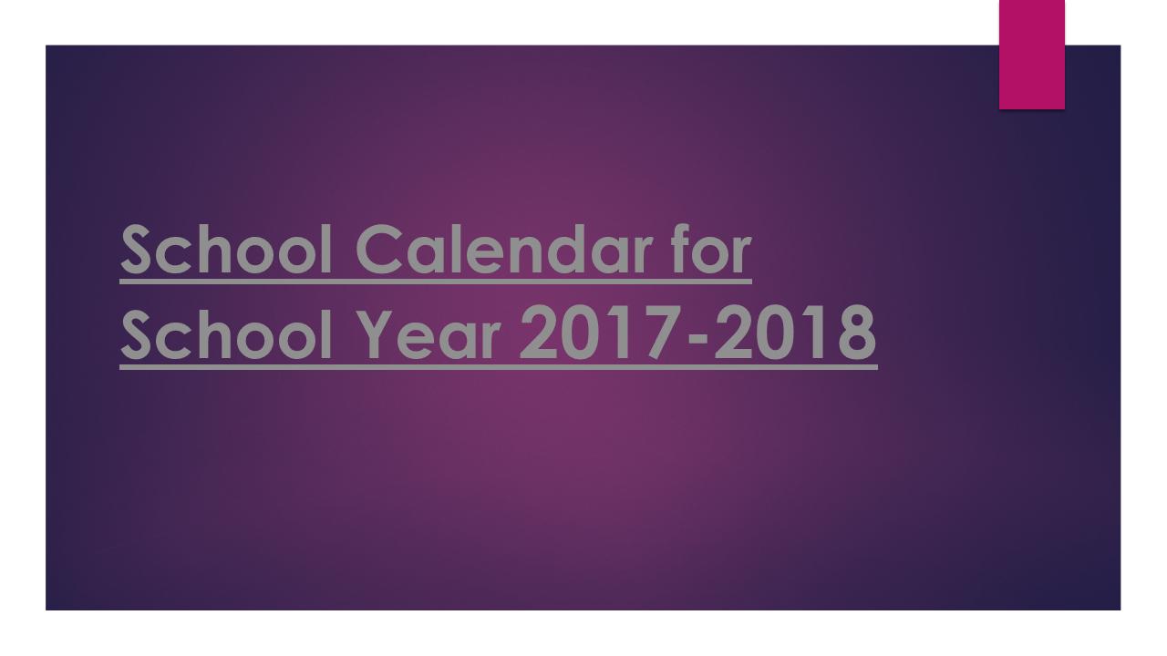 school calendar 2018 17 template