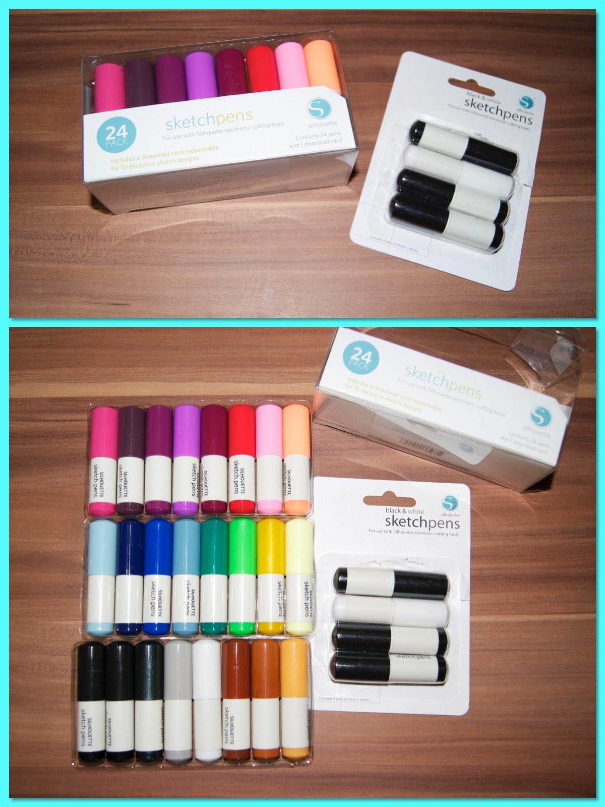 Sketch pens - (m)ein Plotter kann auch schreiben und malen