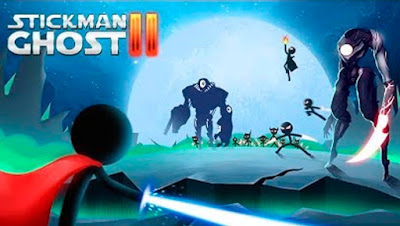 Stickman Ghost 2: Gun Sword MOD APK + DATA Unlimited Money v5.1 for Android Hack Terbaru 2018