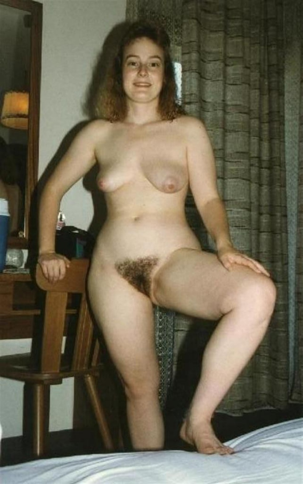 Something is. hairy amateur naked girl standing pity, that