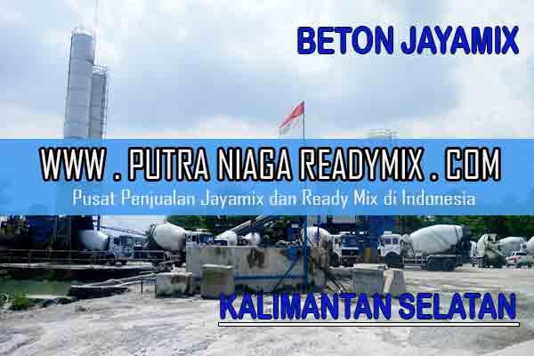 Harga Beton Jayamix Kalimantan Selatan