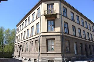 Oslo presque île du Bygdoy Norsk Folkmuseum maison urbaines musée folklorique