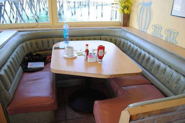 redondo beach coffee and bait restaurant OC booth