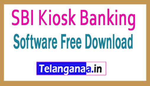 SBI Kiosk Banking Software Free Download Banks CSP/ Business Correspondent Softwares