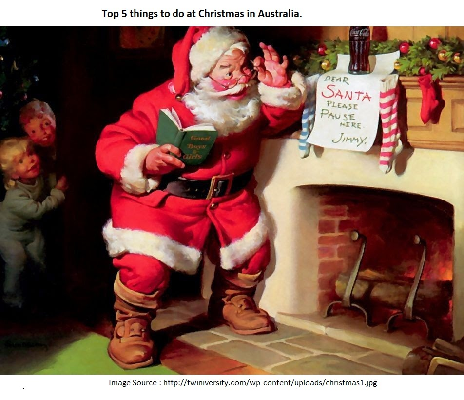 Christmas Camping Australia.Top 5 Things To Do At Christmas In Australia Technical