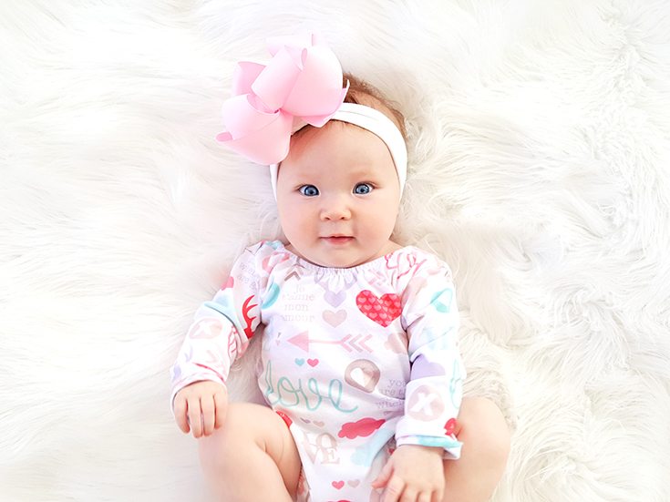 Delainey Kate is 5 months old and so bright, we are so blessed to call her ours! Here's what she's been up to lately...