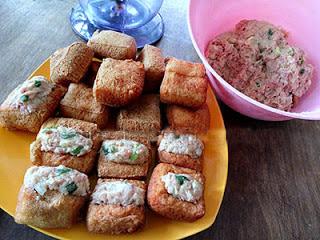 Resep Masakan Tahu Isi Bakso Daging Goreng