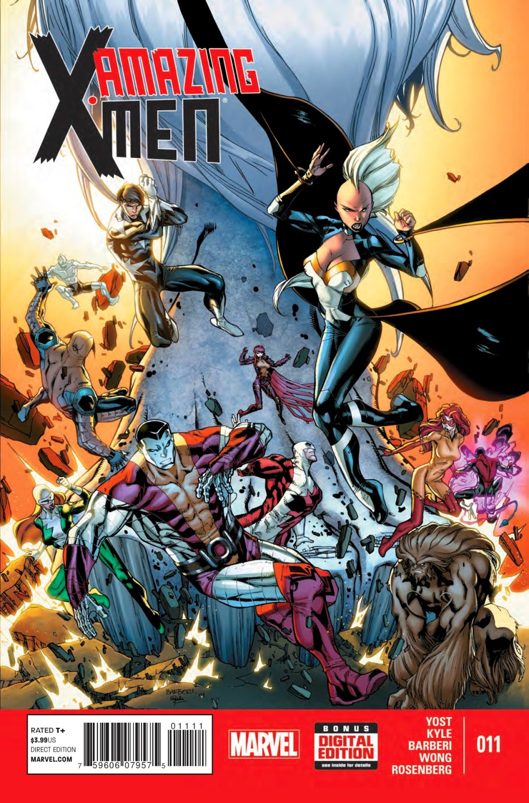 Review of Marvel's Amazing X-Men #11 by Craig Kyle, Chris Yost, Carlo Barberi, Walden Wong and Rachelle Rosenberg.,