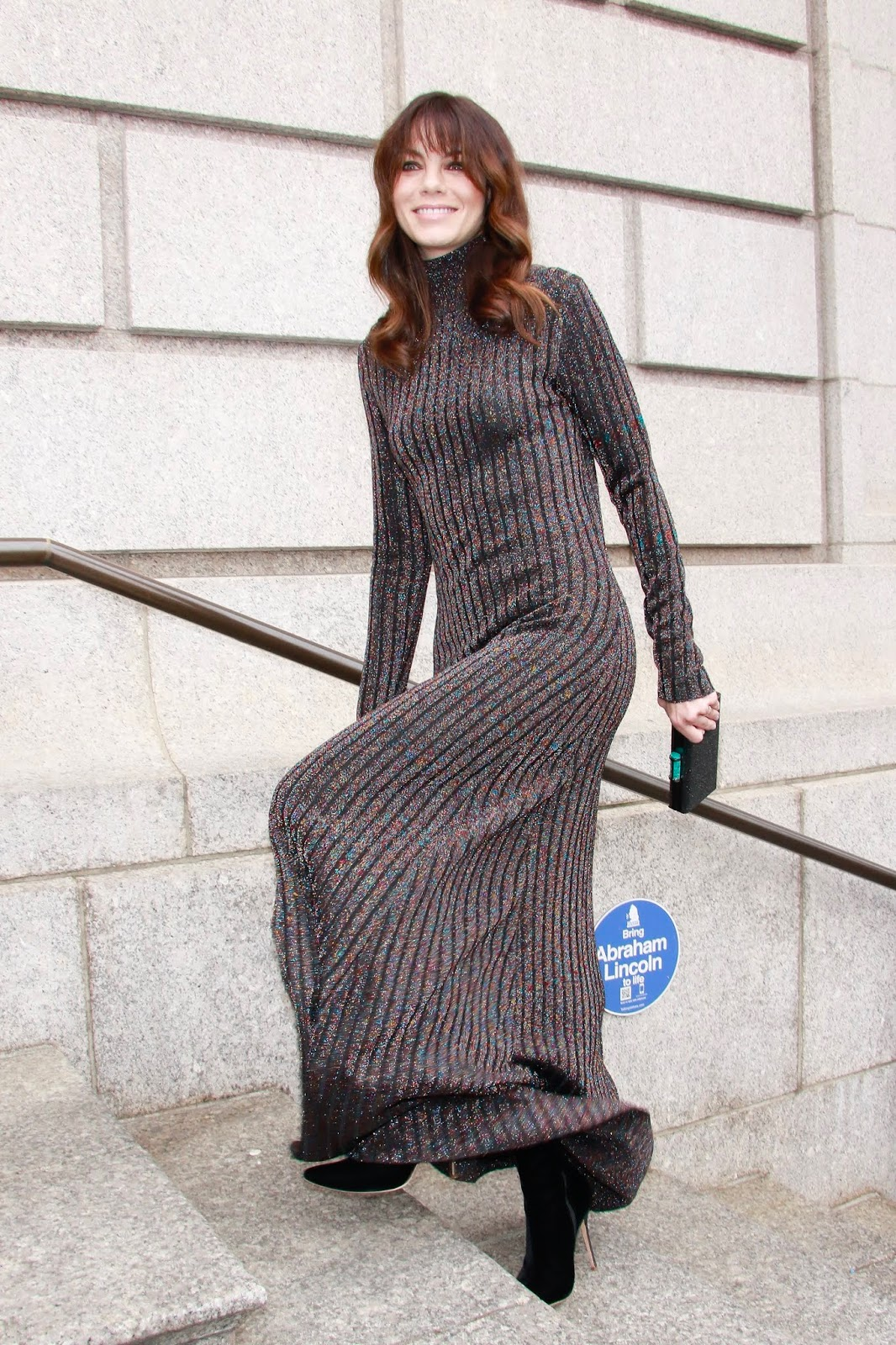 Michelle Monaghan - Outside Caroline Herrera fashion show during NYFW in NYC - 02/11/2019
