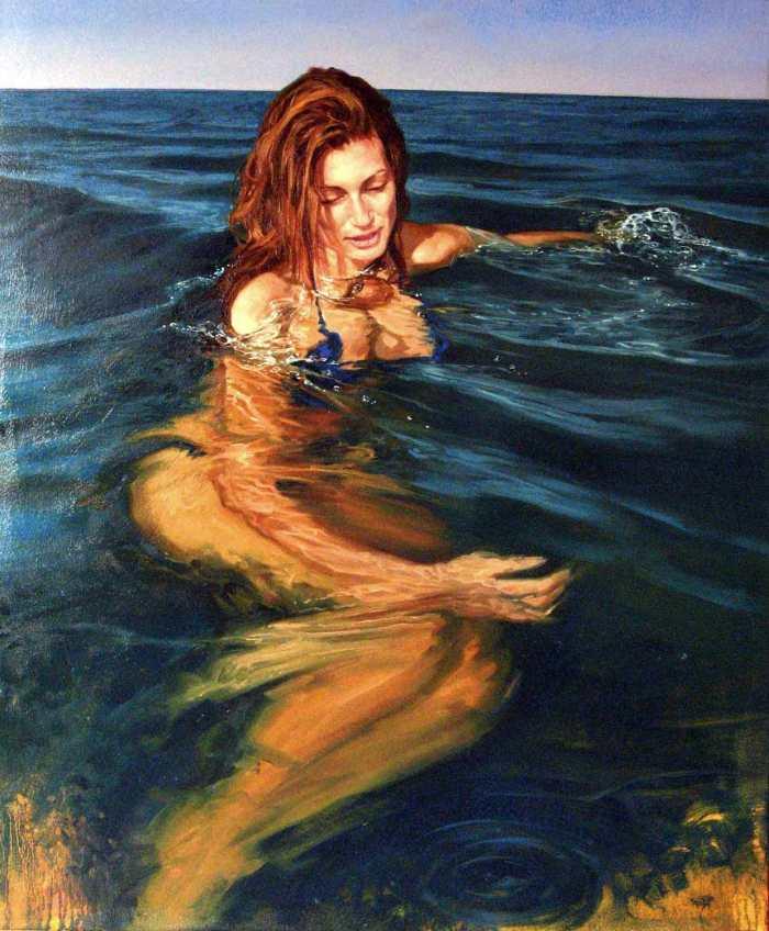 Итальянский художник. Matteo Nannini