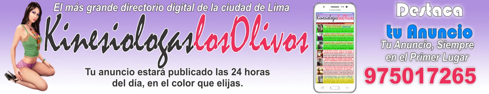 Kinesiologas Los Olivos