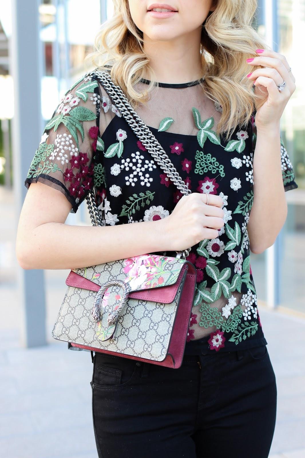 Gucci handbag - Gucci - Style blogger - fashion - Neiman Marcus - floral