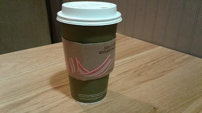 Panera Bread hot tea cup