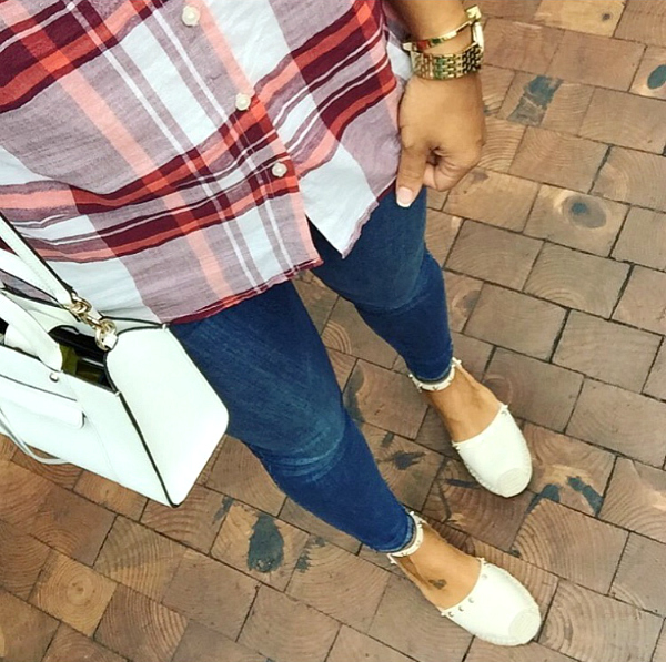 how to wear plaid and skinny jeans, outfit inspiration