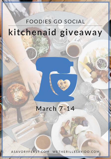 Foodies go Social a KitchenAid Giveaway!
