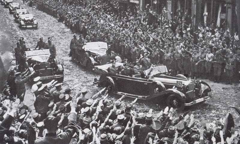 6 July 1940 worldwartwo.filminspector.com Hitler Berlin triumphal return