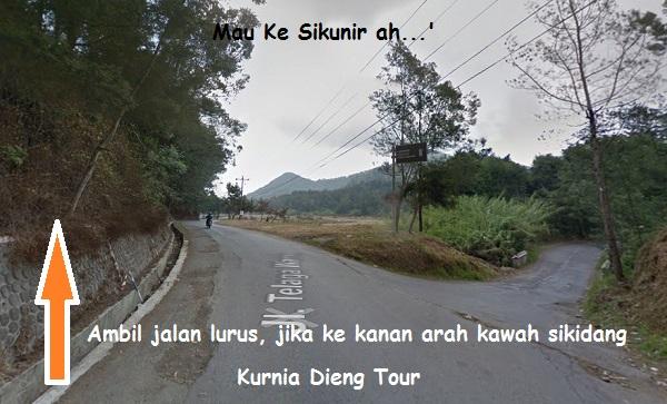 jalan menuju ke bukit sikunir