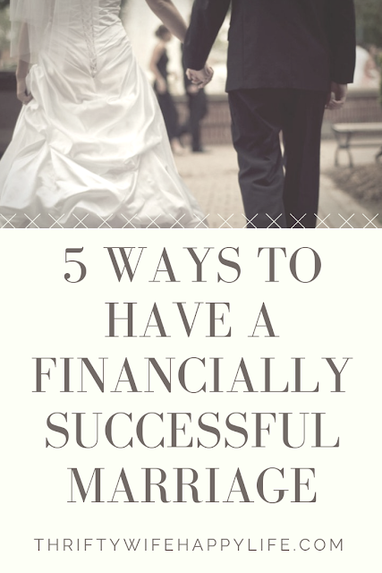 5 Ways to have a Financially Successful Marriage