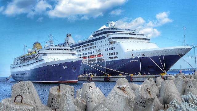 Radioreise Podcast auf Kreuzfahrt auf der Ostsee