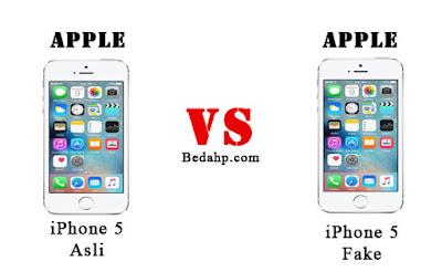 Cara Cek Perbedaan iPhone 5 Asli dan Palsu (Replika)