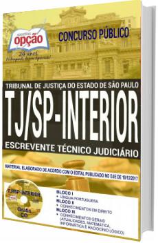Apostila Concurso TJ-SP 2018 Escrevente Técnico Judiciário