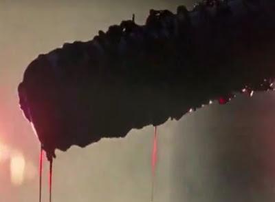 Imagem de Lucille no trailer Walking Dead 7