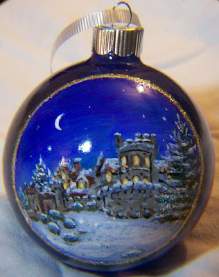 Searles Castle, Windham, NH, Christmas Ornament
