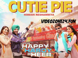 CUTIE PIE-LYRICS-HAPPY HARDY AND HEER | Himesh Reshammiya
