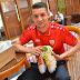 David Babunski: Mit Sonderedition Schuhen zur ersten Fußball EM