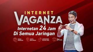 Paket Internet Vaganza 8 GB dan 12 GB Telkomsel Terbaru 2018