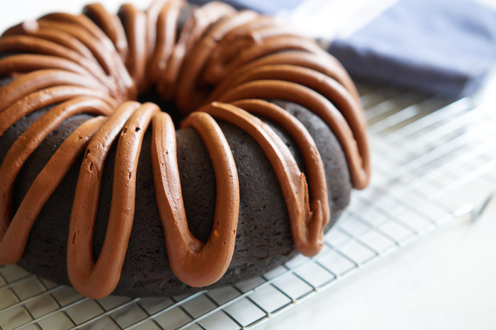 chocolate fudge bundt cake ...a chocolate lover's dream!