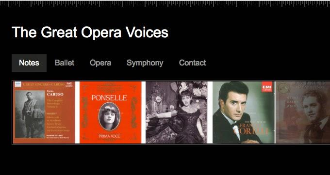 WebRadio : les plus grandes voix de l'opéra