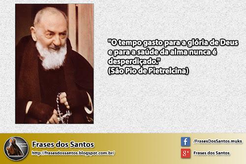 Frase Sobre O Tempo De Deus: Frases Dos Santos: 2012-12-30