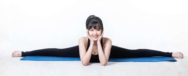 Tư thế yoga xoặc ngang Nguyễn Thu Thủy