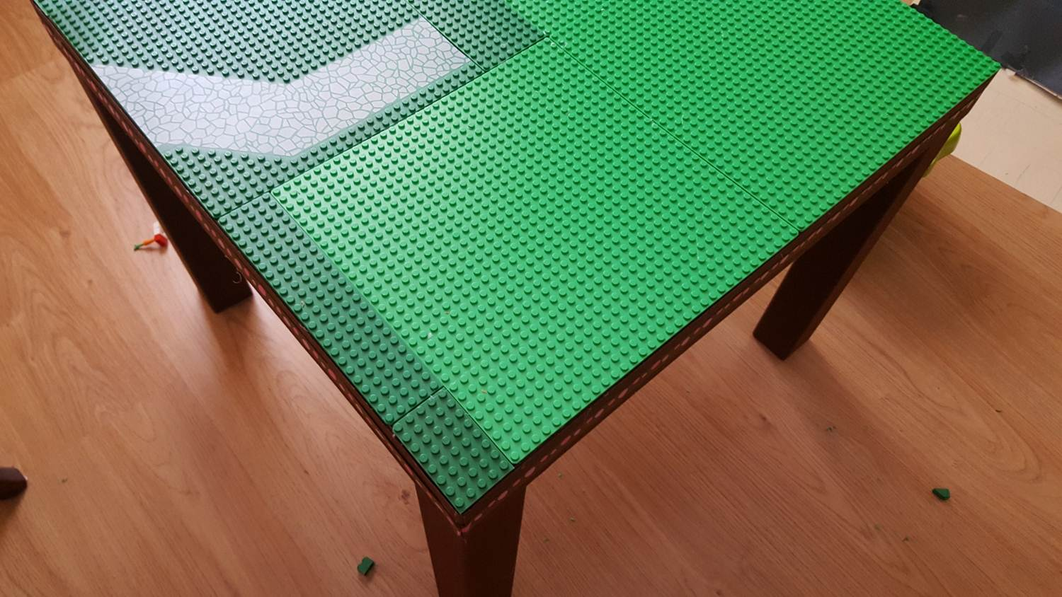 Ikea hack lego table keeping it real for Table lego ikea