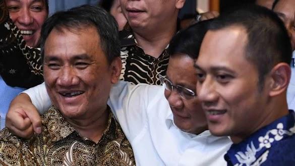 Setan Gundul Bisiki Prabowo Menang 62 Persen