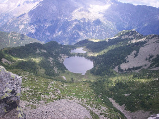 The Alpine lakes at San Giugliano are one of the tourist attractions near Caderzone Terme